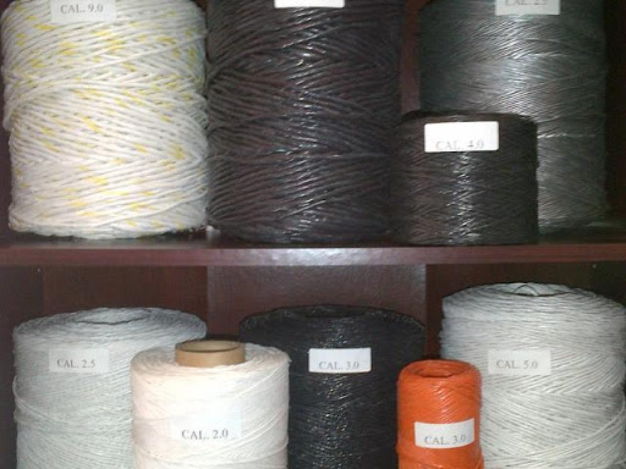 El hilo de rafia es ideal para el amarre de hueveras